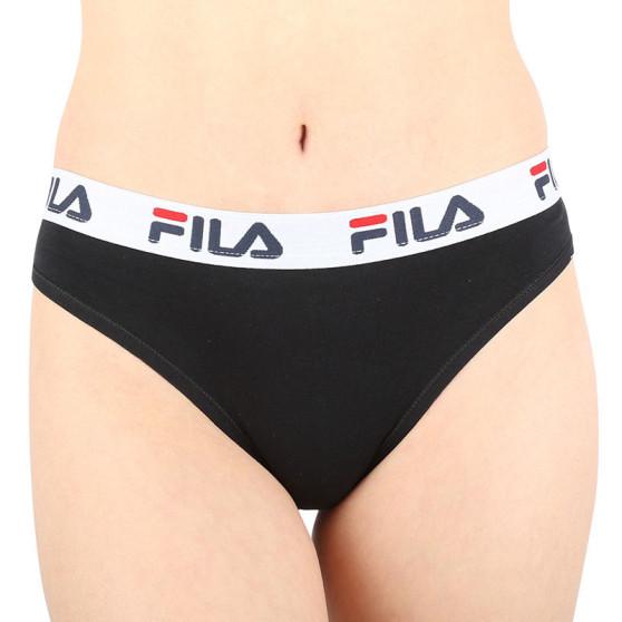 Dámské kalhotky brazilky Fila černé (FU6067-200)