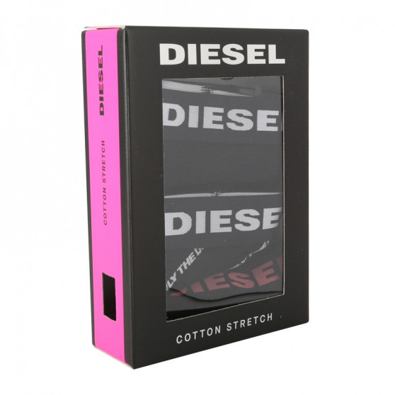 3PACK dámské kalhotky Diesel černé (00SQZS-0DCAG-E4101)