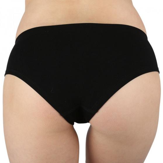 Dámské kalhotky Gina bambusové černé (04027)