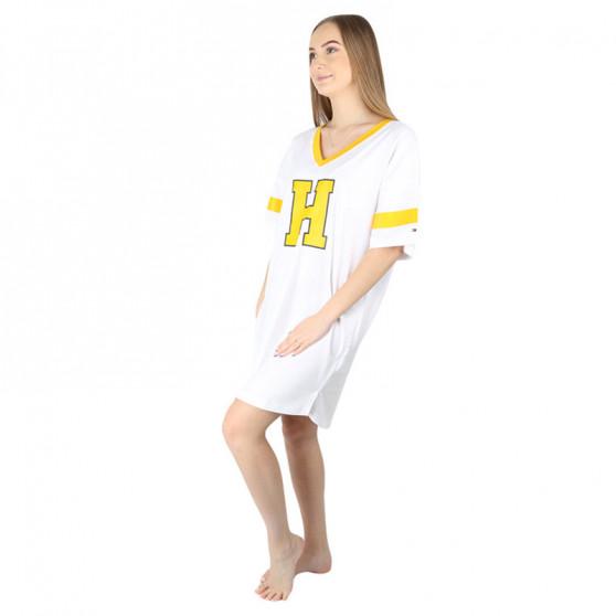 Dámská noční košile Tommy Hilfiger bílá (UW0UW02894 YBR)
