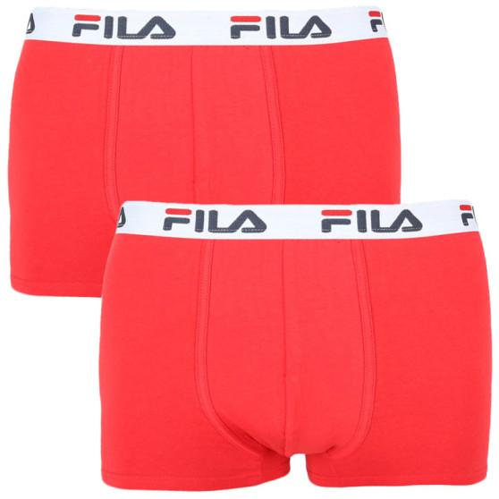 2PACK pánské boxerky Fila červené (FU5016/2-118)