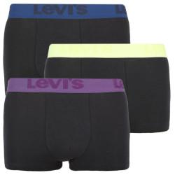3PACK pánské boxerky Levis černé (905042001 011)