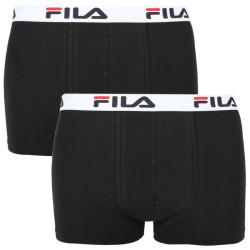 2PACK pánské boxerky Fila černé (FU5016/2-200)