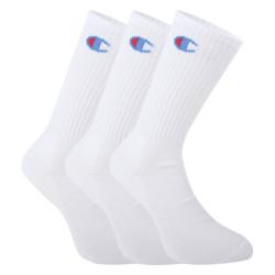 3PACK ponožky Champion bílé (Y08QG)