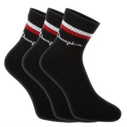 3PACK ponožky Champion černé (Y0B0C)