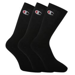 3PACK ponožky Champion černé (Y08QG)