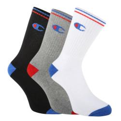 3PACK ponožky Champion vícebarevné (Y0829)