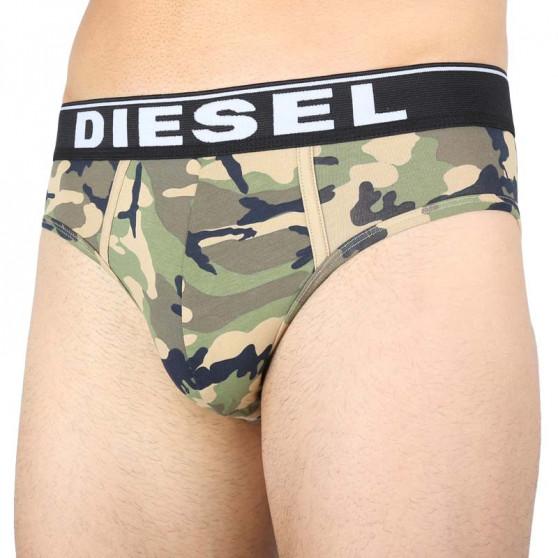 3PACK pánské slipy Diesel vícebarevné (00SH05-0WBAE-E4869)