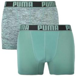 2PACK pánské boxerky Puma sportovní zelené (671018001 004)