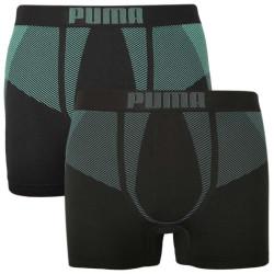 2PACK pánské boxerky Puma sportovní černé (100001255 002)