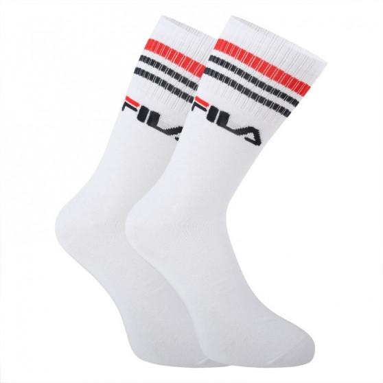 3PACK ponožky Fila bílé (F9090-300)