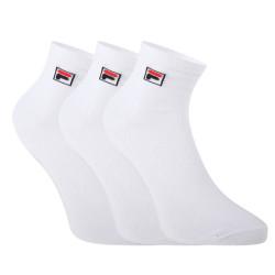 3PACK ponožky Fila bílé (F9303-300)