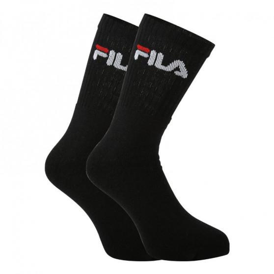 3PACK ponožky Fila černé (F9505-200)