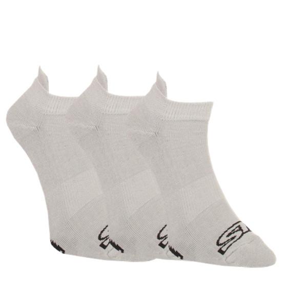 3PACK ponožky Styx nízké šedé (HN10626262)