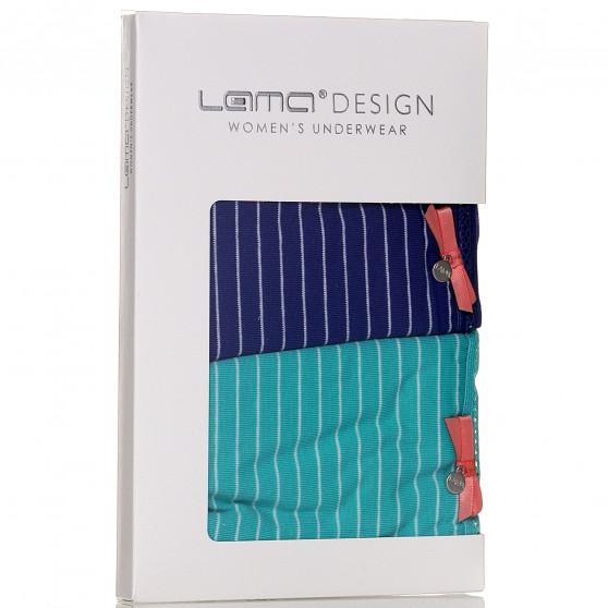2PACK dámské kalhotky Lama vícebarevné (L-1229 MB)