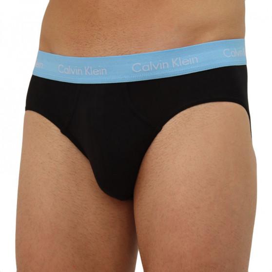 3PACK pánské slipy Calvin Klein černé (U2661G-M9F)