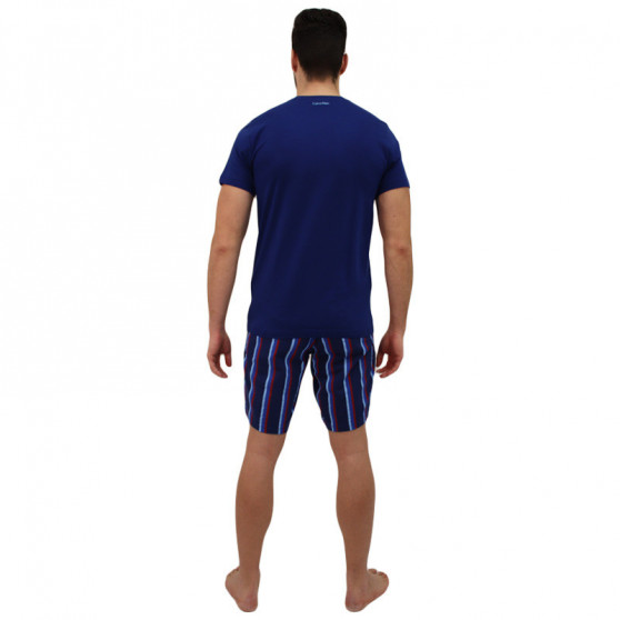 Pánské pyžamo Calvin Klein modré (NM1536E-JVU)