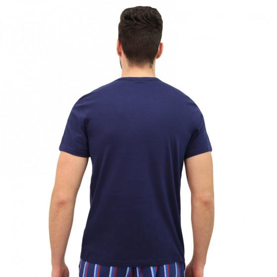 Pánské tričko Calvin Klein tmavě modré (NM1129E-DYC)