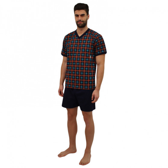 Pánské pyžamo Lonka vícebarevné (vzor 95)