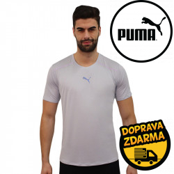 Pánské sportovní tričko Puma šedé (520390 80)