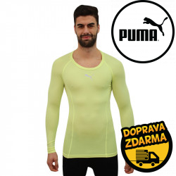 Pánské sportovní tričko Puma žluté (655920 46)