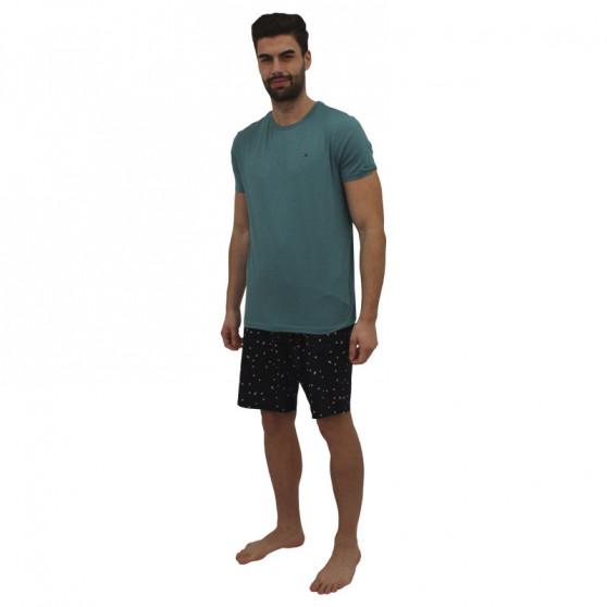 Pánské pyžamo Tommy Hilfiger vícebarevné (UM0UM01964 0R0)