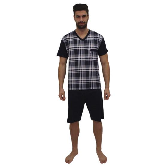 Pánské pyžamo Foltýn modré (FPK10)