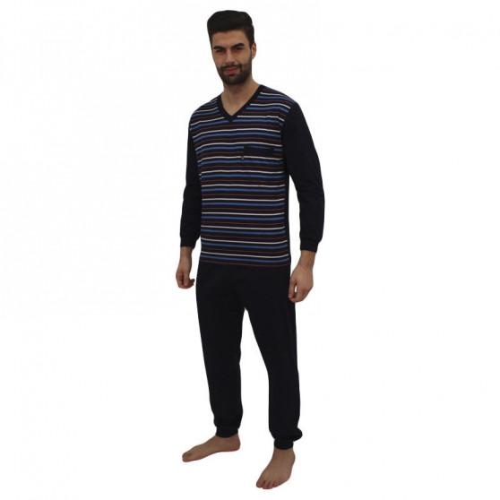 Pánské pyžamo Foltýn modré (FPD5)