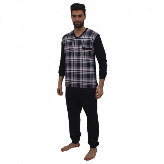Pánské pyžamo Foltýn modré (FPD6)