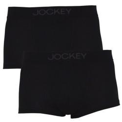 2PACK pánské boxerky Jockey černé (22512922 999)