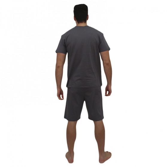 Pánské pyžamo Foltýn nadrozměr vícebarevné (FPKN11)