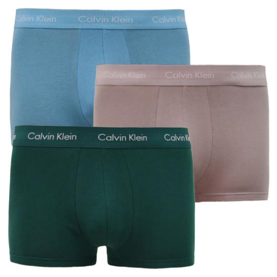 3PACK pánské boxerky Calvin Klein vícebarevné (U2664G-M9Y)
