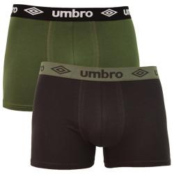 2PACK pánské boxerky Umbro vícebarevné (UMUM0304 A)