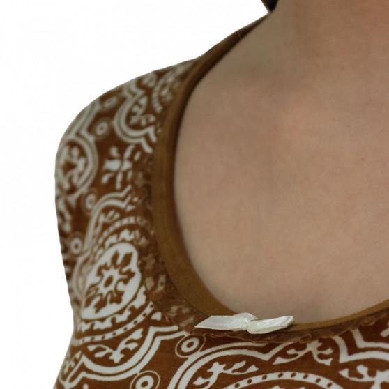 Dámská noční košile Cocoon Secret hnědá (COC791-KG)