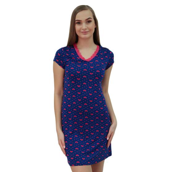 Dámská noční košile Cocoon Secret modrá (COC877-KG)