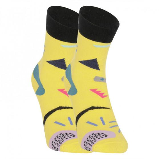 Veselé ponožky Dots Socks žluté (DTS-SX-469-Y)