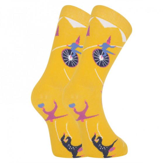 Veselé ponožky Dots Socks cirkus (DTS-SX-441-Y)