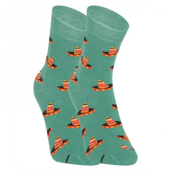 Veselé ponožky Dots Socks sombrero (DTS-SX-431-Z)