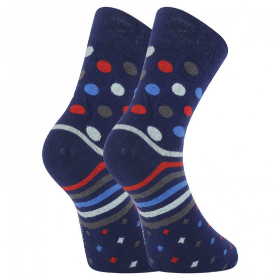 Veselé ponožky Dots Socks modré (DTS-SX-328-G)