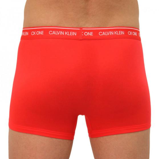 Pánské boxerky CK ONE červené (NB2327A-XL1)