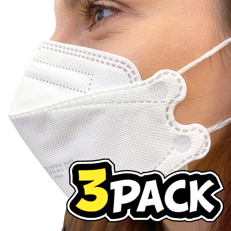 3PACK respirátor FFP2 uni