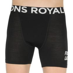 Pánské boxerky Mons Royale merino černé (100088-1075-001)
