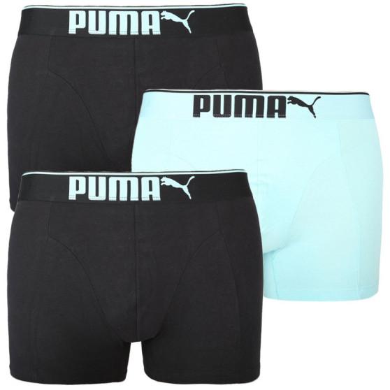 3PACK pánské boxerky Puma vícebarevné (100000896 007)