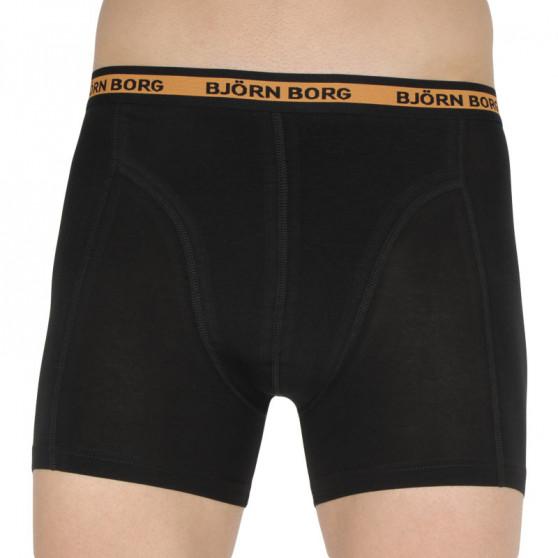7PACK pánské boxerky Bjorn Borg černé (2111-1086-90651)