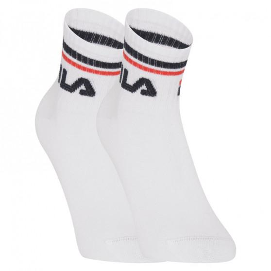 3PACK ponožky Fila bílé (F9398-300)