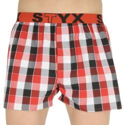 Pánské trenky Styx sportovní guma vícebarevné (B831)
