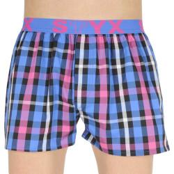 Pánské trenky Styx sportovní guma vícebarevné (B835)