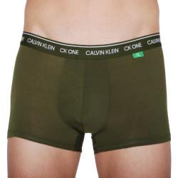 Pánské boxerky CK ONE khaki (NB2327A-0S6)