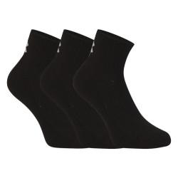 3PACK ponožky Under Armour černé (1358344 001)