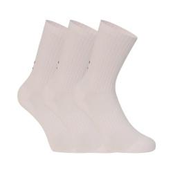 3PACK ponožky Under Armour bílé (1358345 100)